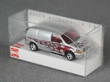 """BUSCH 44656 (H0, 1:87) - Dodge Ram Van """"Crazy Cars"""" - NEUWARE!"""