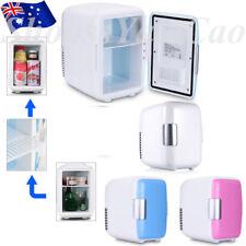 Portable Thermoelectric Mini Bar Fridge Travel Refrigerator Cooler Freezer 4L