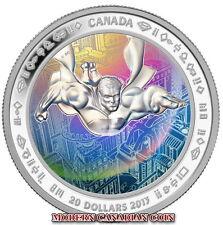 CANADA $20 FINE SILVER  HOLOGRAM COIN-75Th Anniversary Superman™ Metropolis 2013
