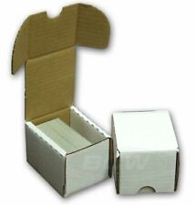 Cardboard 51 100 Card Capacity Sports Trading Card Storage Boxes For Sale Ebay