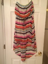 Body Central Junior Dress Short Front Long Back Size Small Gently Used