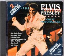 ELVIS GREAT PERFORMANCES<>1989 PAIR/RCA PDC1251<>1ST PRESS<>VERY GOOD