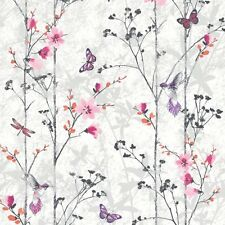 Muriva 102550 Novelties Eden Wallpaper Rolls Pink