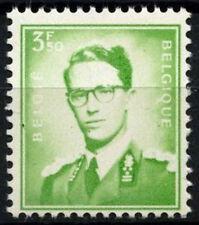 Belgium 1953-72 SG#1458, 3f50 Light Yellow Green King Baudouin MNH #D48266