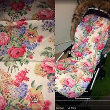 Seat Liner In Cath Kidston Bloomsbury Rose Bugaboo Universal Custom Made New