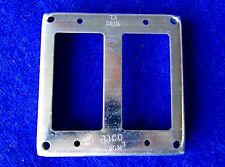 """Raco - New - 4"""" Square Receptacle 809 Electrical Switch Cover Double Gfci Decora"""