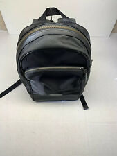 Coach Houston F72483 Signature Canvas Backpack - Black/Charcoal