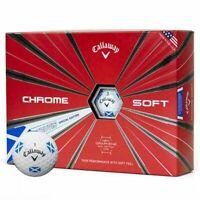 Callaway Chrome Soft Truvis Saltire Golf Balls
