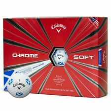 Callaway Chrome Soft Truvis Saltire Golf Balls - 12 Pack