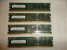 LOT-4 Samsung Desktop Memory 1GB PC2-6400U 800MHz NON-ECC 240-Pin M378T2863RZS