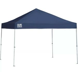 Quik Shade Weekender Pop-Up Canopy- 10ftx10ft Straight Leg Twilight Blue