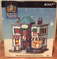 LEMAX Carole Towne Michael Angelo's Pizzeria Lighted Building 2007 Christmas