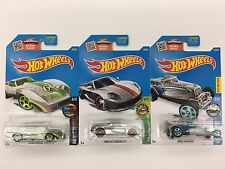 Hot Wheels 2016 ZAMAC caseG Greenwood Corvette Porsche Carrera GT Great Gatspeed