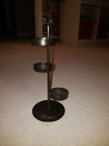 Partylite 3 Tier Tree Tealight Holder For Hurricane Metal