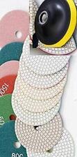 Diamond Polishing Pads 7 inch Wet/Dry 7 Pieces Granite Stone Concrete Marble