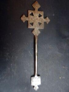 Croix De Blessings Coptic Ethiopia Flag