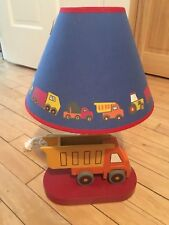 Childrens Bedroom Truck Lamp