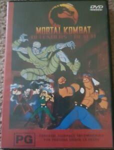 Mortal Kombat Defenders Of The Realm Volume 3 DVD