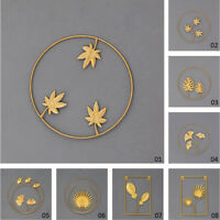 Leaf Metal Wrought Iron Living Room Hanging Parts Indoor Outdoor Wall Art Decor