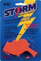 Storm All Weather Safety Whistle Orange