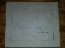 Blunt's Map of the Bay & River of Delaware 1841 Coast Pilot