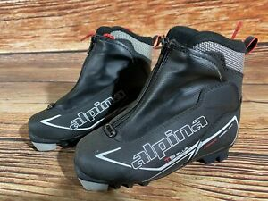 Alpina T5plus Kids Nordic Cross Country Ski Boots Size EU31 US12.5 for NNN A-368