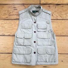 Orvis 31000 Womens Khaki Multi-Pocket Fishing Photographer Safari Hunting Vest S