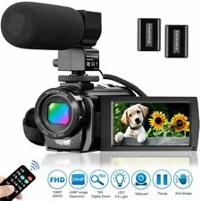 Video Camera Camcorder for YouTube, Aasonida Digital Vlogging Camera FHD 1080P