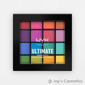 "1 NYX Ultimate Shadow Palette Eyeshadow "" USP04 - Brights "" *Joy's cosmetics*"