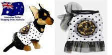 XXS Dog Singlet Polka Dot Sequins  Puppy Chihuahua Clothes Clothing  T Shirt Pet
