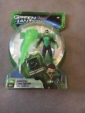 "Green Lantern: GREEN LANTERN - HAL JORDAN 4"" Action Figure! Power Ring Included!"
