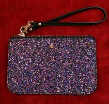 Mimco Glitz Strap Pouch Sparks Black Glitter Small Authentic With Tag Rrp60