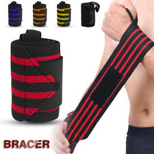 Wrist Support Straps Wraps Weight Lifting Fitness Gym Sport Wristband Hand Band