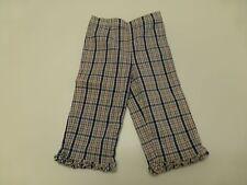 Vintage Gymboree Pants Girls Size 5 Blue & Red Plaid Capri Pants Great Condition
