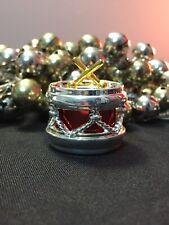 6 NWT Pier 1 Christmas Jingle Bell Napkin Ring Holders Silver Gold Godinger Drum