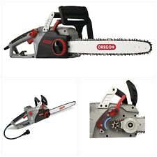 Electric Chainsaw Self Sharpening High Power Corded Oregon CS1500 18 in 15 Amp