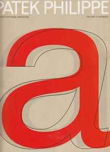 Patek Philippe - The International Magazine, Vol. II, #1, 2003 Spring/Summer ed