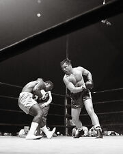 George Chuvalo vs.Joe Frazier - 8x10 B&W Photo