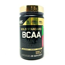 ON Optimum Nutrition Gold Standard BCAA 28 Serv Recovery Amino Energy Exp.5/20