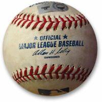 Los Angeles Dodgers vs Washington Nationals Game Used Baseball 08/08/10 MLB Holo