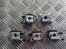 lot de 5 carburateurs  débroussailleuse stihl  FS38 FS45 FS55