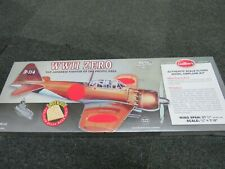 GUILLOWS AUTHENTIC SCALE FLYING MODEL AIRPLANE KIT WWII ZERO FIGHTER