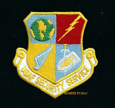 USAF SECURITY SERVICE HAT PATCH US AIR FORCE VETERAN GIFT PIN UP