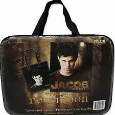 TWILIGHT New Moon 'Jacob & Tattoo' Tote & Fleece Set (NECA) #NEW