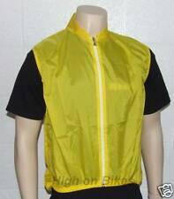 Biemme Gilet Cycling / MTB Jacket / Top Yellow Small
