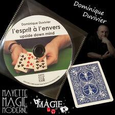 DUVIVIER - L'esprit à l'envers + DVD  - Magie - Qualité Bicycle