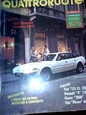 Quattroruote 278 1979 Alfa Romeo Giulietta 1800