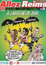 PROGRAMME STADE REIMS / AS.CHERBOURG NATIONAL 12e JOURNEE 2003/2004