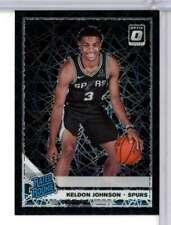 2019-20 OPTIC KELDON JOHNSON #186 BLACK LAZER PRIZM JERSEY # 03/39 WC7947