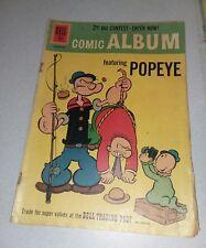 Comic album 15 Popeye the sailer 1961 Silver age cartoon Dell Comics tv show